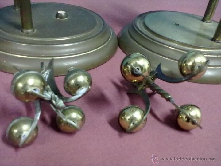 Relojes de carga manual: DOS RELOJES COLUMNAS KUNDO 400 DIAS PARA PIEZAS O RESTAURAR - Foto 12 - 47913796