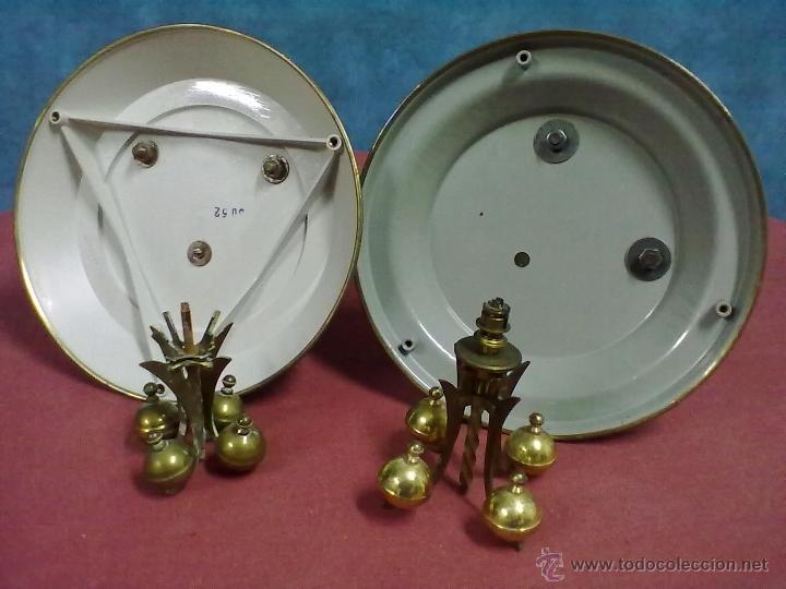 Relojes de carga manual: DOS RELOJES COLUMNAS KUNDO 400 DIAS PARA PIEZAS O RESTAURAR - Foto 13 - 47913796