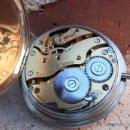 Relojes de carga manual: RELOJ SUIZO DE GRAN DIÁMETRO 5 CENTÍMETROS ESCRIBANÍA ROBUSTO Y MUY PESADO. AÑOS 40-50. Lote 48160582