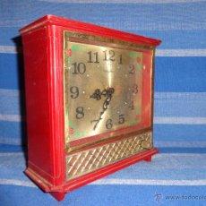 Relojes de carga manual: RHYTHM - RELOJ MUSICAL RHYTHM Nº 68044MADE IN JAPON, PIEZAS O RESTAURAR, 111-1. Lote 168939696