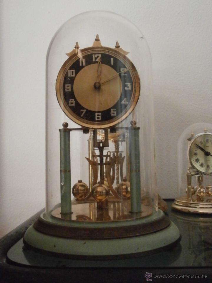 Antiguo reloj mesa mec nico alem n de cuerda qu comprar - Relojes antiguos de mesa ...