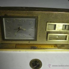 Relojes de carga manual: EXCELENTE RELOJ DE DESPACHO MARCA DELUXE PARA REPARAR - CALENDARIO. Lote 48690813