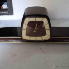 Relojes de carga manual: RELOJ SOBREMESA MARCA KEMIR. AÑOS 60. Lote 48774374