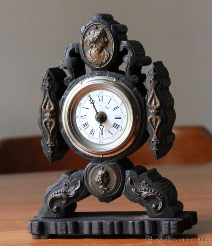 ANTIGUO RELOJ DE SOBREMESA (Relojes - Sobremesa Carga Manual)