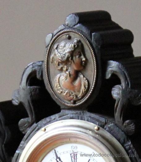 Relojes de carga manual: ANTIGUO RELOJ DE SOBREMESA - Foto 2 - 48939589