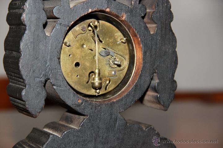 Relojes de carga manual: ANTIGUO RELOJ DE SOBREMESA - Foto 4 - 48939589