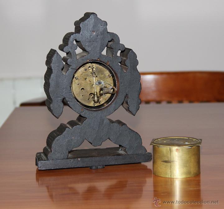 Relojes de carga manual: ANTIGUO RELOJ DE SOBREMESA - Foto 5 - 48939589