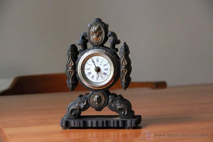 Relojes de carga manual: ANTIGUO RELOJ DE SOBREMESA - Foto 6 - 48939589