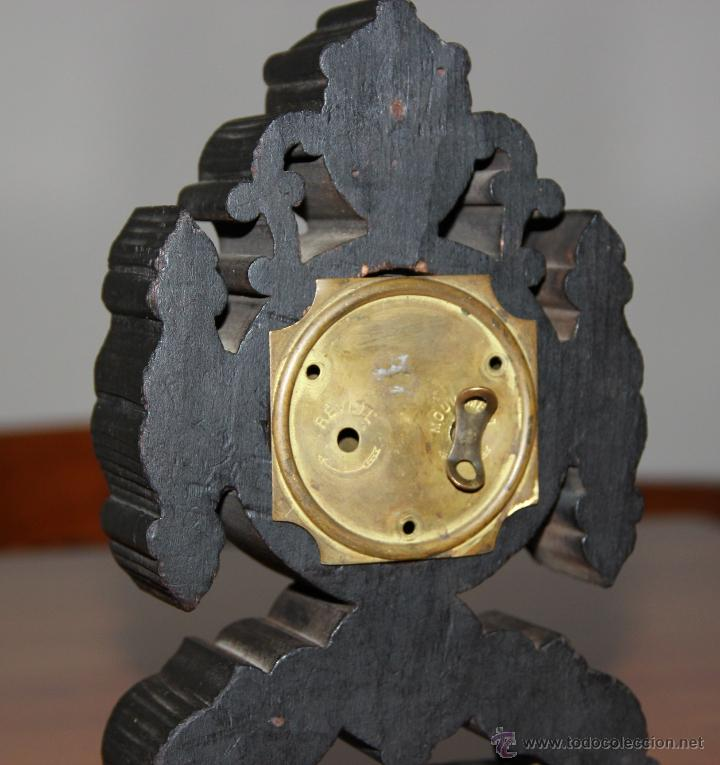 Relojes de carga manual: ANTIGUO RELOJ DE SOBREMESA - Foto 7 - 48939589
