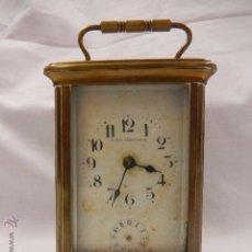 Relojes de carga manual: RELOJ DE VIAJE O CARRUAJE. UNIÓN HORLOGERE. SIGLO XIX. . Lote 49262075