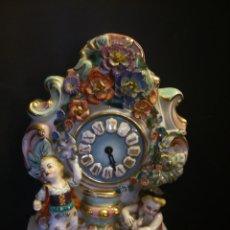 Relojes de carga manual: * ANTIGUO RELOJ DE PORCELANA(RF:BV/*). Lote 49520048
