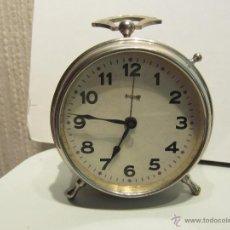 Relojes de carga manual: RELOJ DESPERTADOR SOBREMESA . Lote 49689627