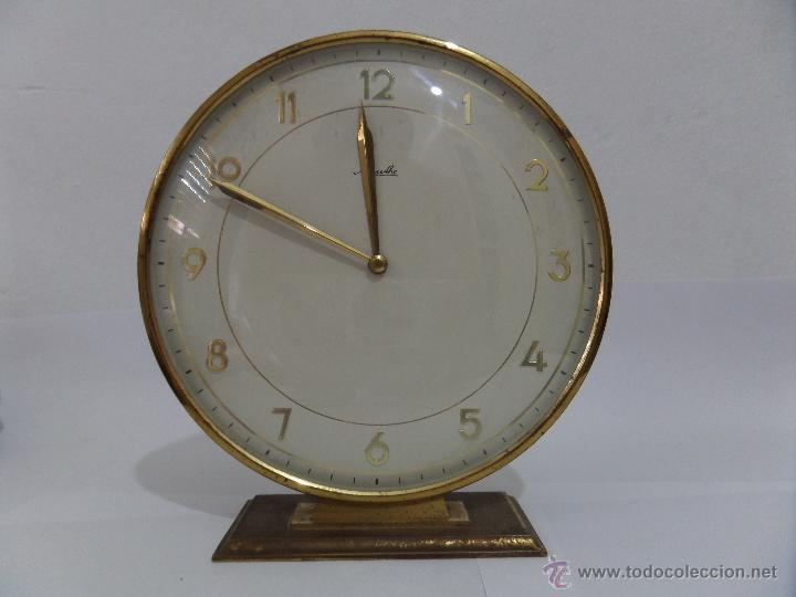 Mesa Vendido Reloj Antiguo Mauthe Subasta 49718983 Funciona De En bgyY7f6