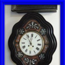Relojes de carga manual: RELOJ ISABELINO CON INCRUSTACIONES DE NACAR. Lote 49762369