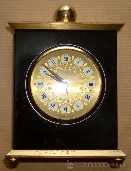 RELOJ DESPERTADOR DE SOBREMESA SUIZO MARCA ¨LOOPING¨ (Relojes - Sobremesa Carga Manual)