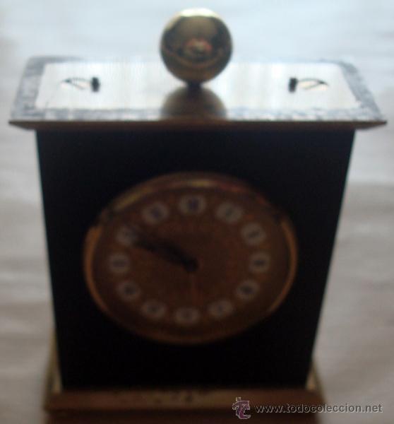 Relojes de carga manual: RELOJ DESPERTADOR DE SOBREMESA SUIZO MARCA ¨LOOPING¨ - Foto 3 - 49844779