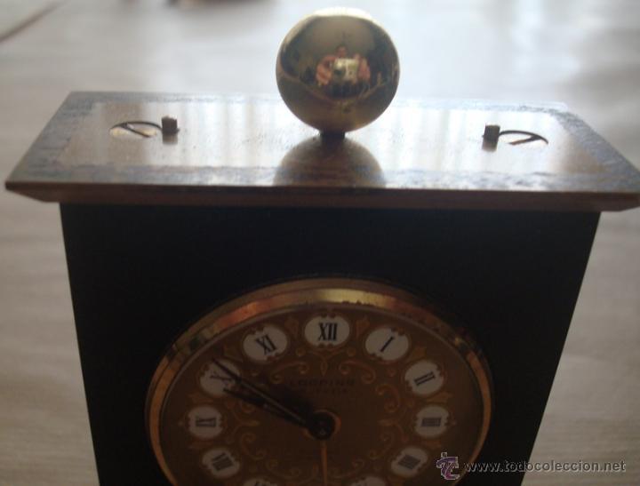 Relojes de carga manual: RELOJ DESPERTADOR DE SOBREMESA SUIZO MARCA ¨LOOPING¨ - Foto 5 - 49844779