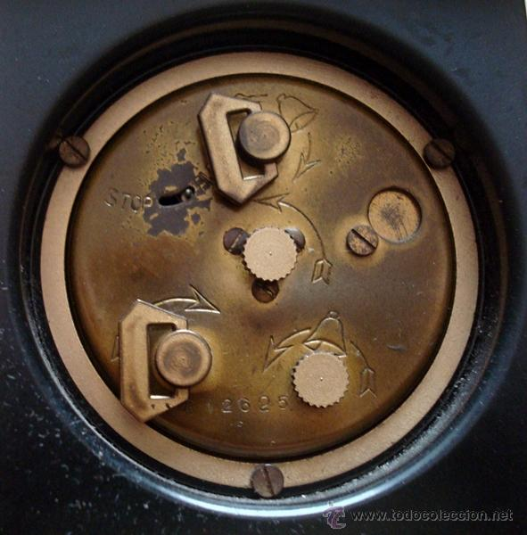 Relojes de carga manual: RELOJ DESPERTADOR DE SOBREMESA SUIZO MARCA ¨LOOPING¨ - Foto 6 - 49844779