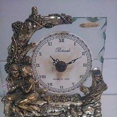 Relojes de carga manual: BONITO RELOJ DE SOBREMESA. MARCA ROTONDO. QUARTZ. MADE IN ITALY. Lote 163535486