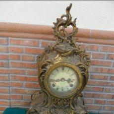 Relojes de carga manual: RELOJ DE BRONCE. Lote 292347618