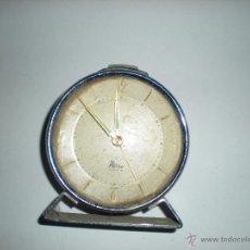 Relojes de carga manual: RELOJ MESA MICRO 2 JEWELS D 9CM. Lote 50226337