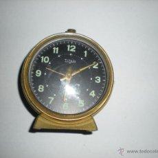 Relojes de carga manual: RELOJ DE MESA TITAN D 8CM. Lote 50226407