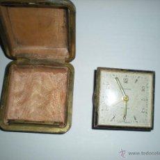 Relojes de carga manual: RELOJ CON CAJA MARA BLESSING 6X6CM. Lote 50229925