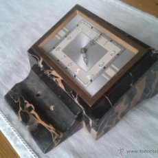 Relojes de carga manual: ORIGINALÍSIMO RELOJ AMERICANO DE MÁRMOL PARA DESPACHO, BAYARD & DAY.. Lote 158643582
