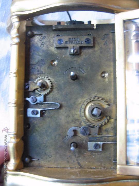 Relojes de carga manual: Reloj de sobremesa dorado francés. French gilded clock. - Foto 2 - 51158252