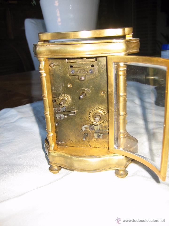 Relojes de carga manual: Reloj de sobremesa dorado francés. French gilded clock. - Foto 6 - 51158252