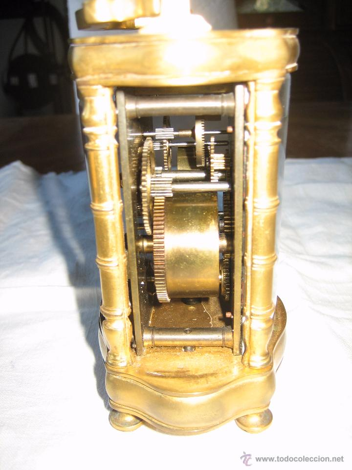 Relojes de carga manual: Reloj de sobremesa dorado francés. French gilded clock. - Foto 7 - 51158252