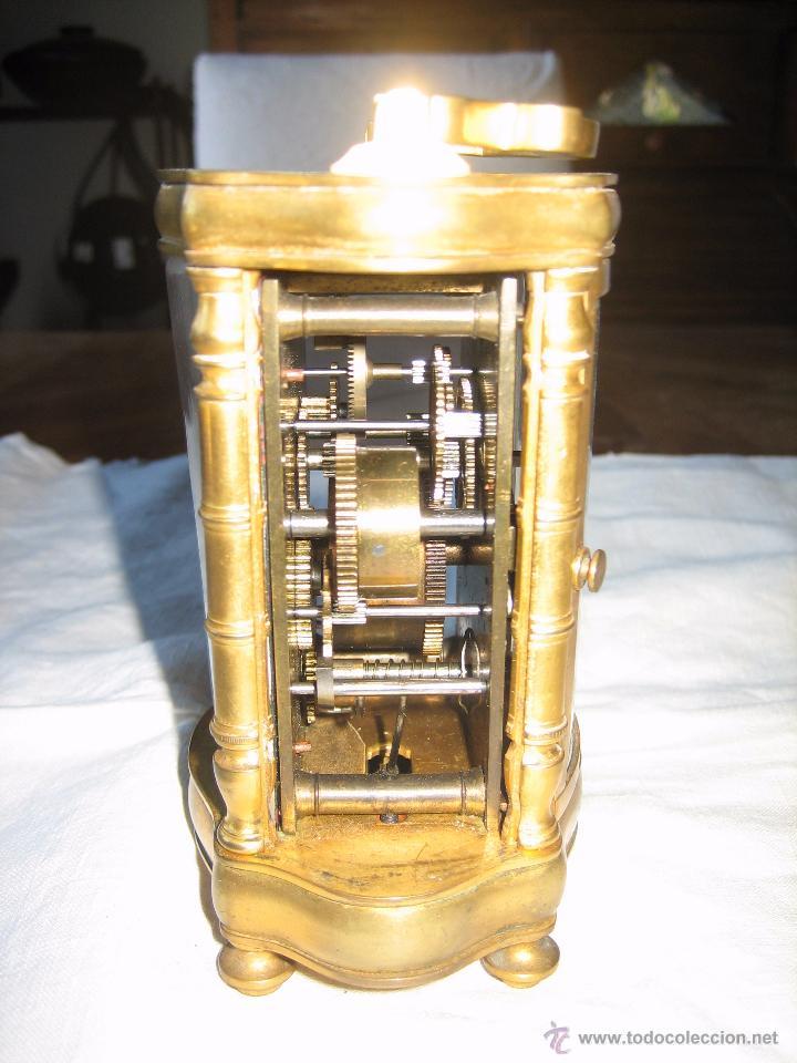 Relojes de carga manual: Reloj de sobremesa dorado francés. French gilded clock. - Foto 9 - 51158252