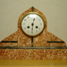 Relojes de carga manual: RELOJ SOBREMESA PRINCIPIOS SIGLO XX. EPOCA ART-DECO O CHARLESTON.. Lote 51207343