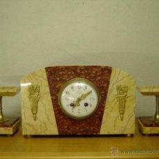 Relojes de carga manual: RELOJ SOBREMESA PRINCIPIOS SIGLO XX. EPOCA ART-DECO O CHARLESTON.. Lote 111812323