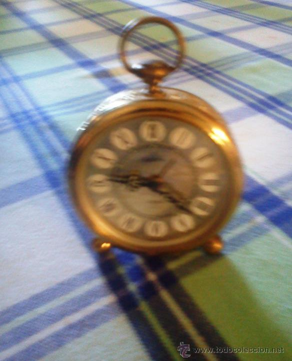 RELOJ DE SOBREMESA DE CARGA MANUAL EUROPE 2 JEWELS ALEMANIA (Relojes - Sobremesa Carga Manual)