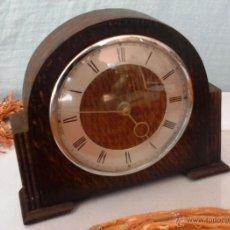 Relojes de carga manual: VIEJO RELOJ DE CHIMENEA. AÑOS 70. FUNCIONANDO. BRITÁNICO. Lote 51406303