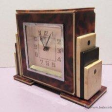 Relojes de carga manual: RELOJ DESPERTADOR BAQUELITA ART DECO . Lote 52689258