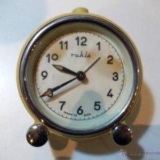 Relojes de carga manual: ANTIGUO RELOJ DE MESILLA MARCA RUHLA. Lote 52705001