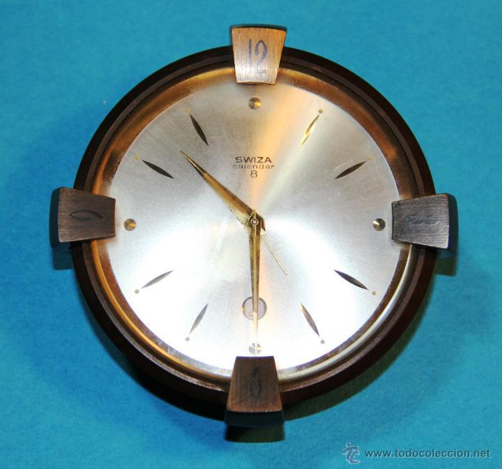 De Calendar 8 Reloj Swiza Escritorio zSVUMp