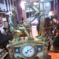 Relojes de carga manual: ANTIGUO MAGNIFICO RELOJ SOBREMESA PALACIEGO GUARNICION BRONCE 15220.EUROS PRECIO DIRECTO. Lote 52884922