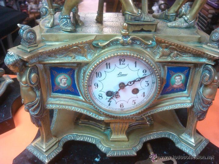 Relojes de carga manual: ANTIGUO MAGNIFICO RELOJ SOBREMESA PALACIEGO GUARNICION BRONCE 15220.EUROS PRECIO DIRECTO - Foto 6 - 52884922