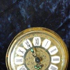 Relojes de carga manual: BONITO RELOJ DE CUERDA EN COBRE O LATON, NO FUNCIONA. Lote 53032774