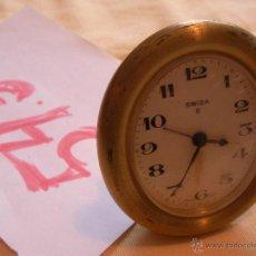 Relojes de carga manual: ANTIGUO RELOJ DESPERTADOR SOBREMESA A CUERDA SWIZA 8 - HECHO EN SUIZA - FUNCIONANDO. Lote 53151803