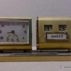 Relojes de carga manual: RELOJ CALENDARIO EUROPA. Lote 53526576
