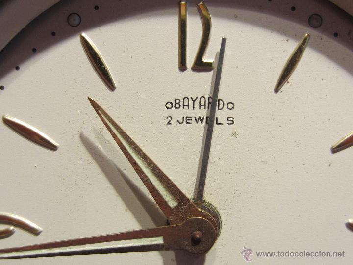Relojes de carga manual: reloj despertador sobremesa - Foto 2 - 53637137