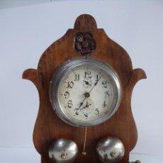 Relojes de carga manual: ANTIGUO RELOJ DE SOBREMESA O DE COLGAR. Lote 53794269