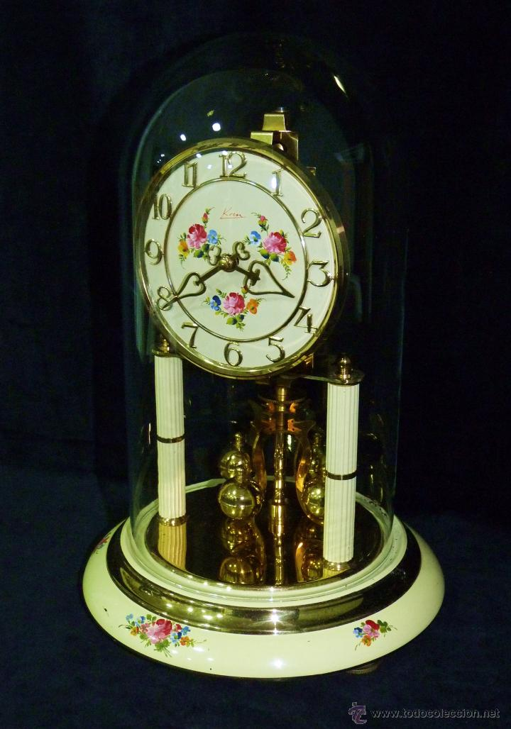 Reloj de sobremesa kern de p ndulo de torsi n c comprar - Relojes de sobremesa antiguos ...