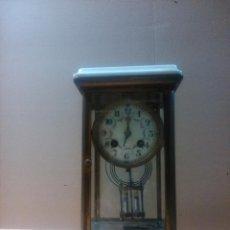 Relojes de carga manual: RELOJ DE SOBREMESA PÉNDULO DE MERCURIO SXIX. Lote 53960636