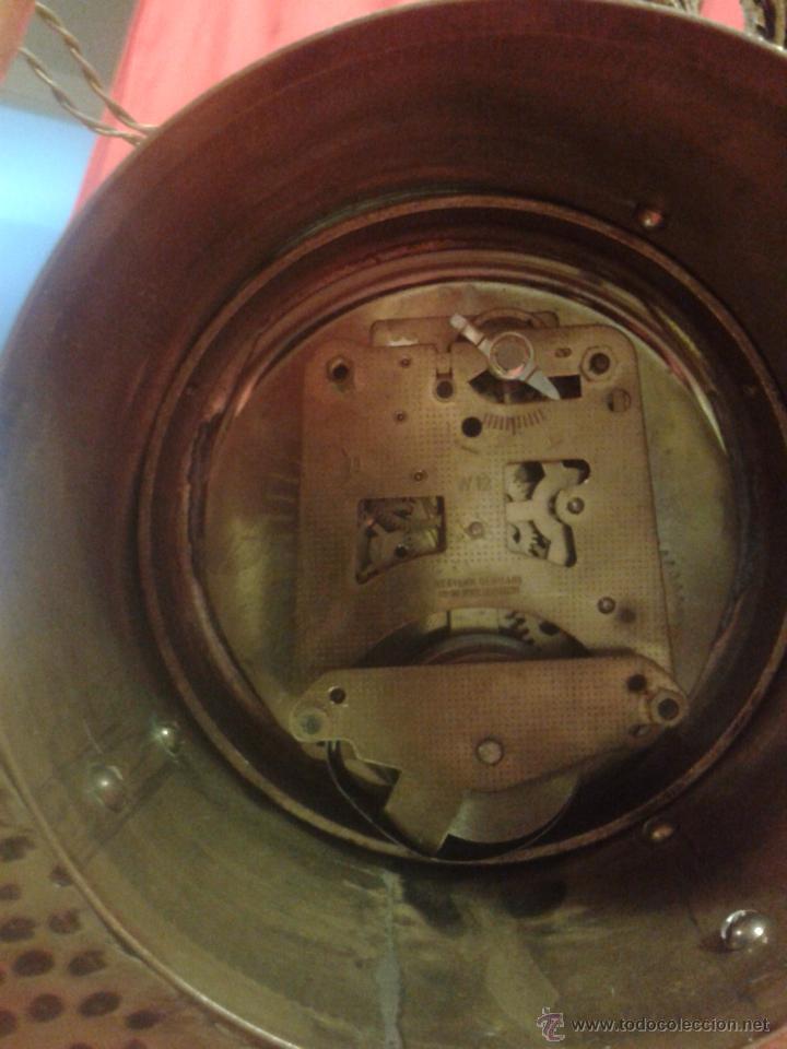 Relojes de carga manual: Reloj alemán de bronce con peana de mármol y carga manual - Foto 6 - 54325619
