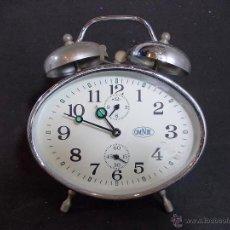 Relojes de carga manual: ANTIGUO RELOJ DESPERTADOR MARCA OMNIK. Lote 54342069